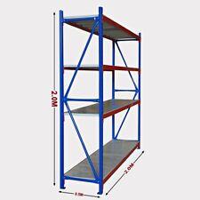 New 2M Warehouse Garage Metal Steel Storage Shelving Racking Budget Range