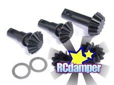 HARDEN STEEL DIFF BEVEL PINION GEAR TRAXXAS 1/10 SLASH STAMPEDE 4x4 DIFFERENTIAL
