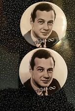 BEATLES: BRIAN EPSTEIN TRIBUTE BADGE BUTTON PIN