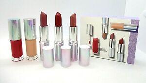 Clinique 5-Pc Set Plenty Of Pop Lipstick Lip Gloss  ~ BNIB