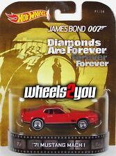 71 MUSTANG MACH 1 - James Bond 007 - 2014 Hot Wheels Retro Entertainment