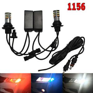 Front Signal No Error 1156 P21W 7506 White Amber Ice Blue 30 LED B1 US Japan E