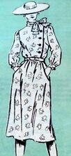 *LOVELY VTG 1970s DRESS Sewing Pattern 14/36