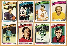1976-77 OPC  Partial Set  Mid Grade