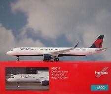 Herpa Wings 1:500 Airbus A321 Delta Air Lines N301DN  529617 Modellairport500
