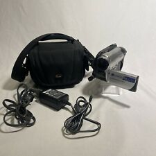 SONY DCR-DVD108 DVD Handycam Camcorder 40x Optical Zoom Carl Zeiss Lens - Tested