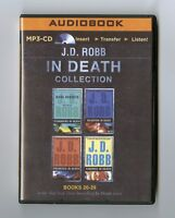 J. D. Robb in Death Collection Books 26-29- MP3CD - Audiobook