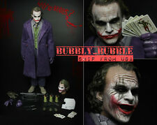 BACK ORDER 1/6 Joker Heath Ledger BATMAN THE DARK KNIGHT Figure Complete Set USA