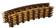Faller E-Train/Spur 0  -  6 x gebogenes Gleis  30° / R1  - Nr.3816