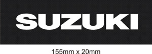 SUZUKI SEAT STENCIL