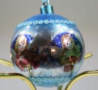 Mila Design TIM 44167 ENGEL mit TEDDYBÄR 17 cm Dekofigur Weihnachten Dekoration