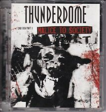 CD THUNDERDOME malice to society 2nd gen part 1 2CD SUPERJEWEL (BX1)