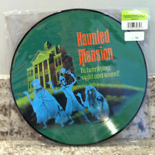 Disney Parks Haunted Mansion Vinyl Picture Disc 12 Inch Record Soundtrack