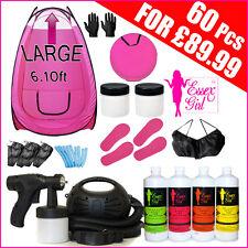 Spray Tanning Machine 650 watt- HVLP Kit - Tent -Solution-Sticky Feet-Fake Tan P