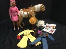 1975 Kenner General Mills Nugget Golden Palomino& 1974 Dusty doll & Accessories