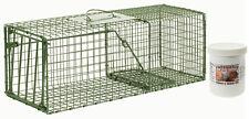 """Duke Hd Model 1109 Standard Single Door Cage Trap Value Package - 26"""" X 9"""" X 9"""""""