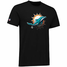 Miami Dolphins Midnight Mascot Core NFL T-Shirt -New w/Tags- Officially Licenced