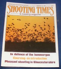 SHOOTING TIMES MAGAZINE FEBRUARY 11-17 1988 - IN DEFENCE OF THE HAMMERGUN