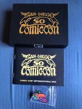 San Diego Comic Con Exclusive 50th Anniversary TOUCAN PIN Souvenir Box 2019 SDCC