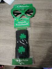 Saint patrick's day Glasses & Wristbands