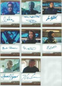 Star Trek Discovery Season Two autograph card ARCHIVE EXCLUSIVE Ethan Peck