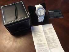 Freelook Sea Diver Watch Made with Crystallized Swarovski Elements NWT