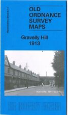 DETAILED ORDNANCE SURVEY MAP GRAVELLY HILL, BIRMINGHAM 1913 WITH FREE UK P&P