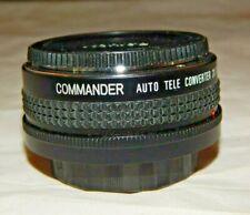 Commander Auto Tele Converter 2x for Konica-TC