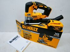 BRAND NEW DEWALT XR 18V DCS334 BRUSHLESS JIGSAW BARE UNIT + DCB184 5 AH BATTERY