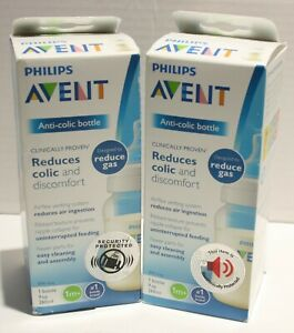 Philips Avent Anti-Colic Bottle Reduces Colic and Discomfort 9oz 2pk