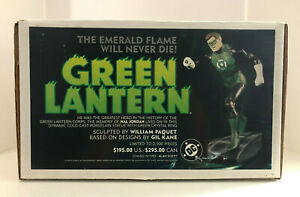 1998 HAL JORDAN GREEN LANTERN FULL SIZE STATUE #1267 OF 2500 BY WILLIAM PAQUET