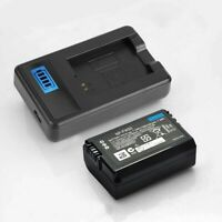 NP-FW50 Battery Charger 600mAh for Sony Alpha A6000 A6300 A6500 A7r A7 Camera GB
