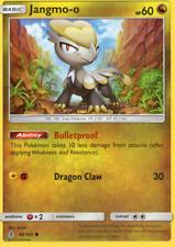 4x Jangmo-o - Pokemon Sun & Moon Guardians Rising #98 - NEW