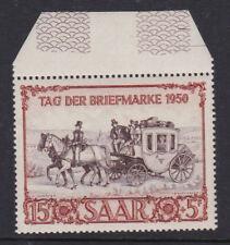 Saar Germany 1950 Mint MLH Full Set 1 value International Stamp Exhibition IBASA