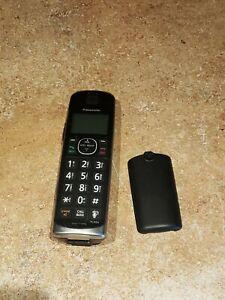 Panasonic KX-TGEA61 B DECT 6.0 Cordless Expansion Handset Only. Nice Shape.