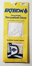 Ektelon Racquetball Glove, Synthetic Suede Leather, Women's Left Large Free Ship