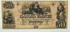 1800's $50 The Canal Bank - New Orleans, Louisiana Note