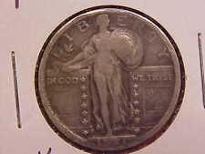 1921 P STANDING LIBERTY QUARTER - WEAK DATE - F - SEE PICS! - (N4679)