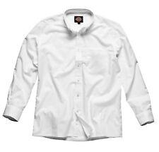 Dickies SH64200 White Weave Long Sleeved Shirt Size 15.5
