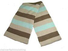 Striped 100% Wool Scarves for Men