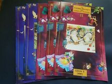 Lot Of 5 Tormont French Fairy Tale Books