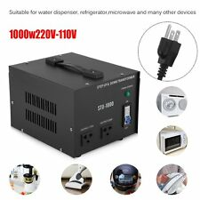 1000W Heavy Duty Step Up/Down 110V TO 220V Voltage Converter Transformer EW
