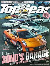 BBC TOP GEAR #275 11/2015 JAMES BOND GARAGE 007's Aston DB10 EVIL JAG C-X75 @New