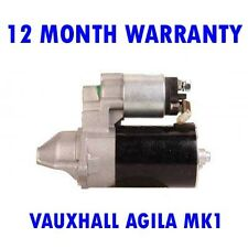 VAUXHALL AGILA MK1 MK I 1.2 HATCHBACK 2000 2001 2002 - 2008 RMFD STARTER MOTOR