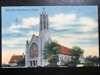 Vintage Postcard>1948>Boys Town>Dowd Memorial Chapel>Omaha>Nebraska