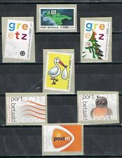 Nederland Port betaald 2008-2011 7 zegels opgenomen in DAVO-supplement, blad 4