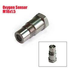M18x1.5 Oxygen Sensor Extension Spacer Connector Stainless Steel Small Catalyst