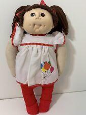 Vintage 1984 MN Thomas Original Cabbage Patch Baby Doll Balloon Dress