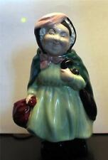 "Vintage Royal Doulton Porcelain Dickens Character Sairy Gamp 4 1/2""h Figurine"