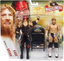 WWE Mattel Kane/Daniel Bryan Wrestlemania 36 Battle Pack Action Figures 2 Pk